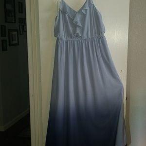 Ombre m1axi dress